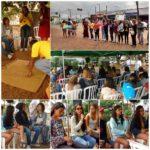 Jovens do CCA Jardim Lapenna, do Espaço Jovem e do Movimento Cultural da Penha discutem identidade, cultura, preconceito e direito à cidade na Praça do Forró.