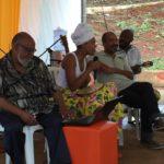 Confraria Afro-Di-Verso em homenagem ao poeta Luiz Gama em um bate papo musicado