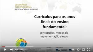 Hivy Mello, pesquisadora do Cenpec, apresenta resultado de pesquisa sobre currículo