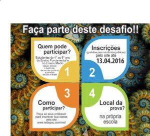 Incrições para a Olimpíada Internacional de Matemática até 13/04