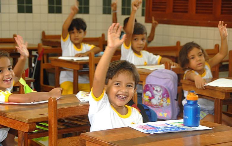 Inauguração de escola no Segundo Distrito de Rio Branco/AC (Foto: Sérgio Vale/Secom Governo do Acre).