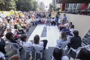 Atividade em SP reúne organizações e movimentos em defesa da construção democrática no Brasil
