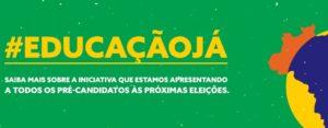 #EducaçãoJá: Iniciativa apresenta plano de melhoria da qualidade da educação para candidatos às eleições