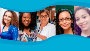 Cinco mulheres na educação integral.
