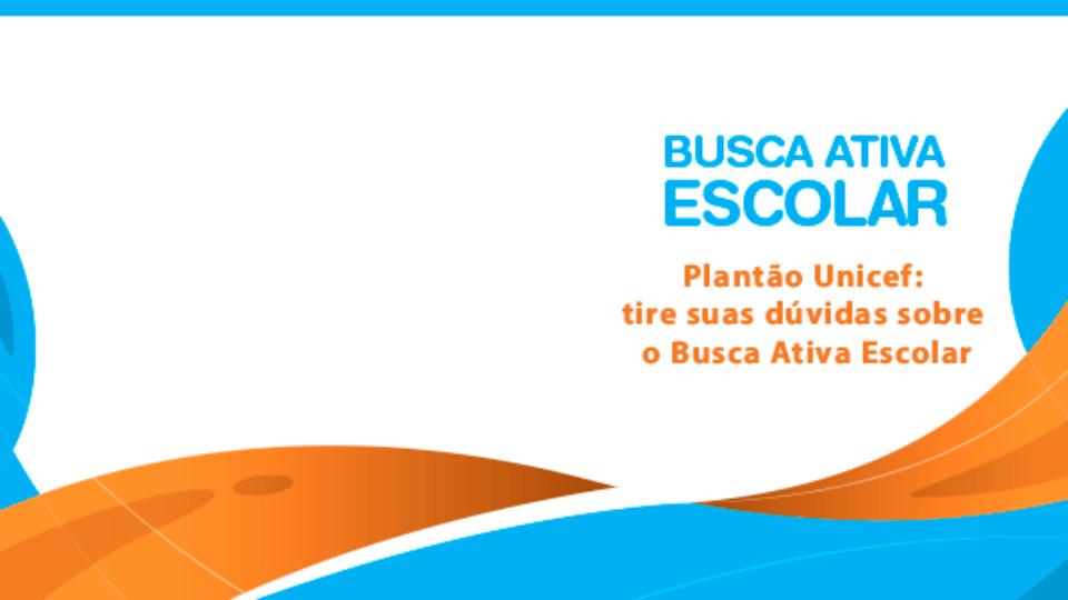 Plantão da Busca Ativa Escolar aborda gestão de alertas e casos
