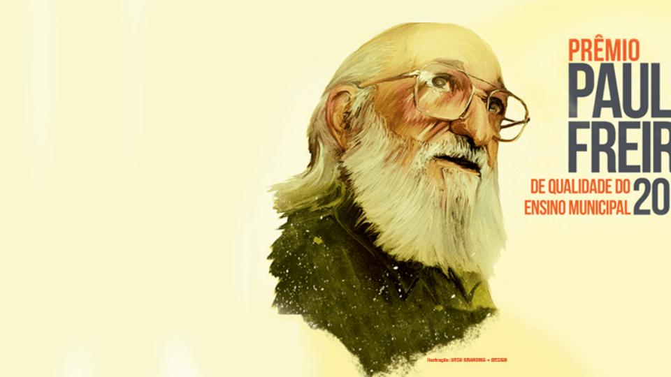 Inscrições abertas para o Prêmio Paulo Freire