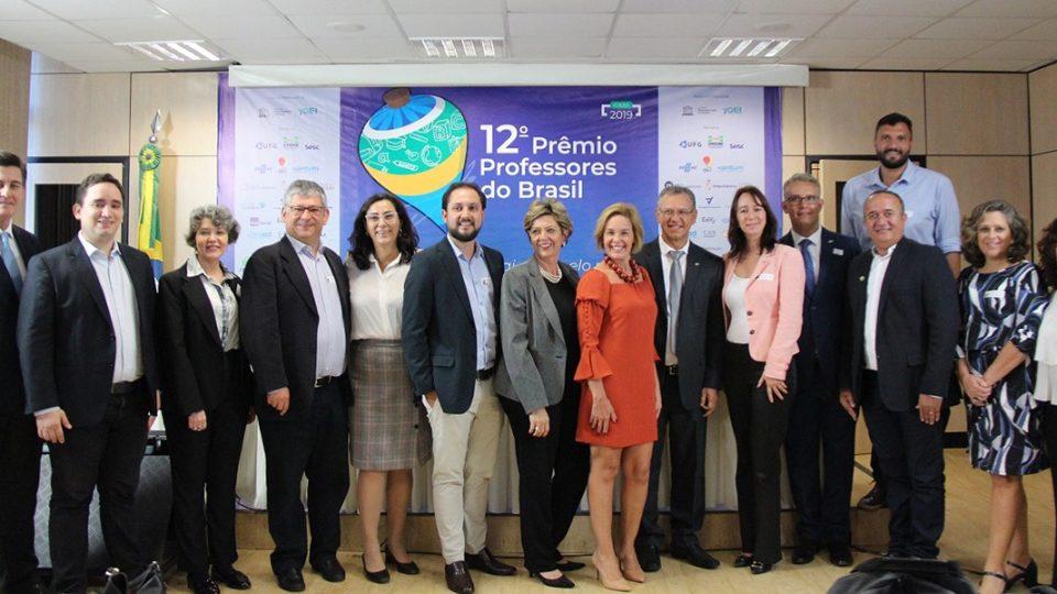 Inscrições para o Prêmio Professores do Brasil vão até 31/05