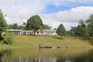 Comunidade de Tabocal do Inuixi, no rio Amazonas. Foto: Arquivo pessoal.