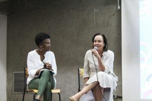 Juliana Yade e Anna Helena Altenfelder. Foto: Isabella Viana.