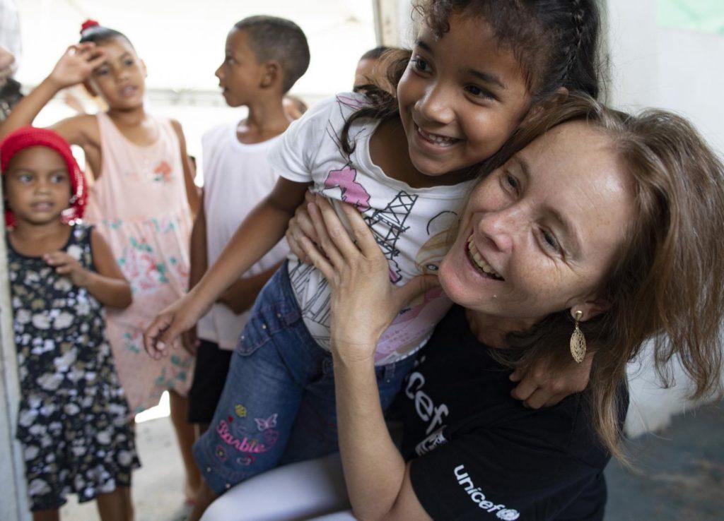 Florence Bauer da Unicef Brasil. Foto: João Laet / Divulgação UNICEF