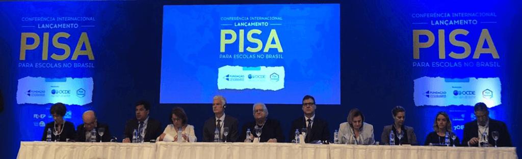 Lançamento do PISA-S no Hotel Windsor Florida, no Rio de Janeiro (RJ). Foto: Inep/Reprodução.