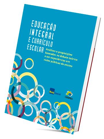 """Capa do livro """"Educação integral e currículo escolar""""."""