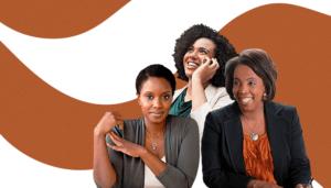 Mulheres negras no cenário nacional.