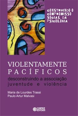"""Capa do livro """"Violentamente Pacíficos"""""""