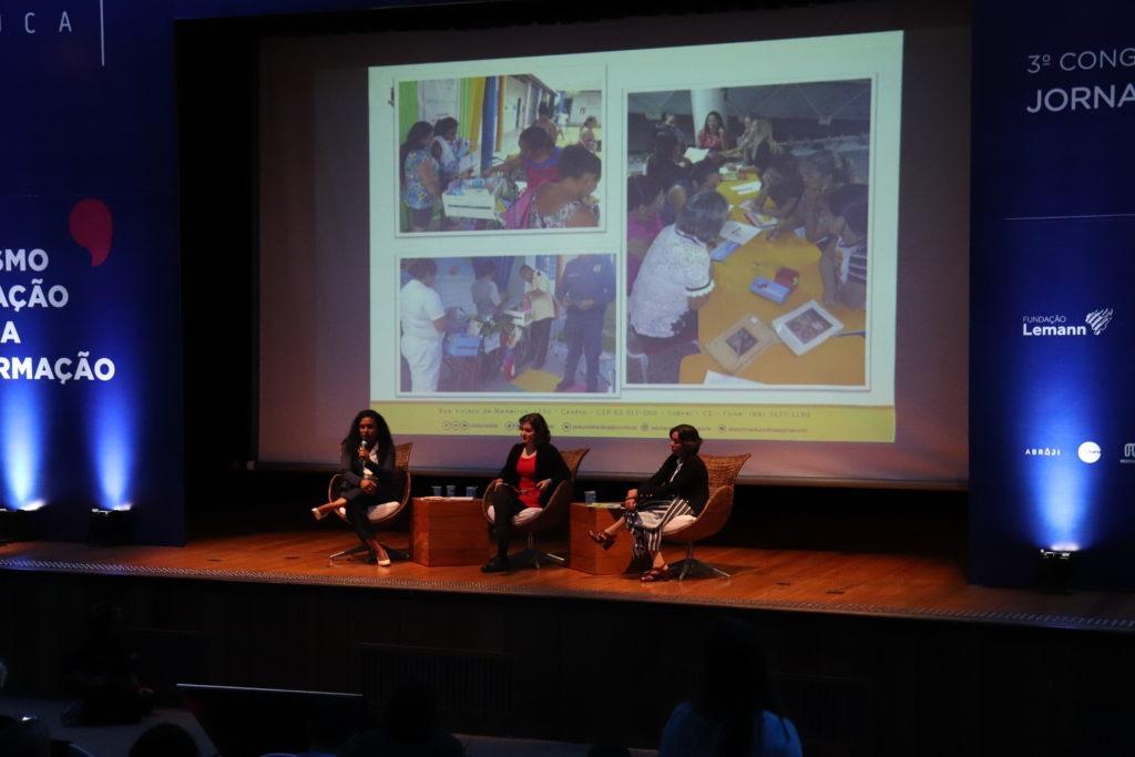 Ticiane Silva, Ana Carolina Moreno e Mirlene Barcelos.