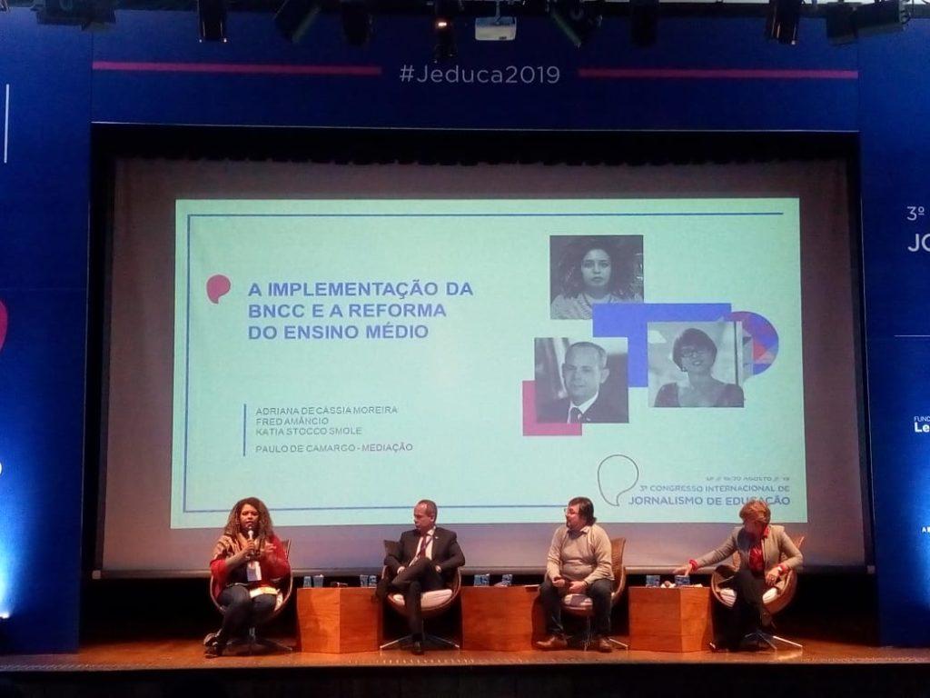 Adriana Moreira, Fred Amâncio, Paulo de Camargo e Katia Smole.