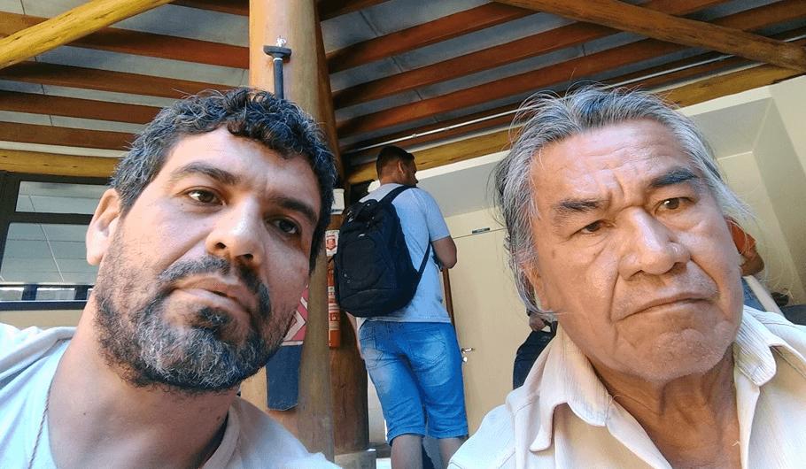 Fabio Cardias e Alvaro Tukano