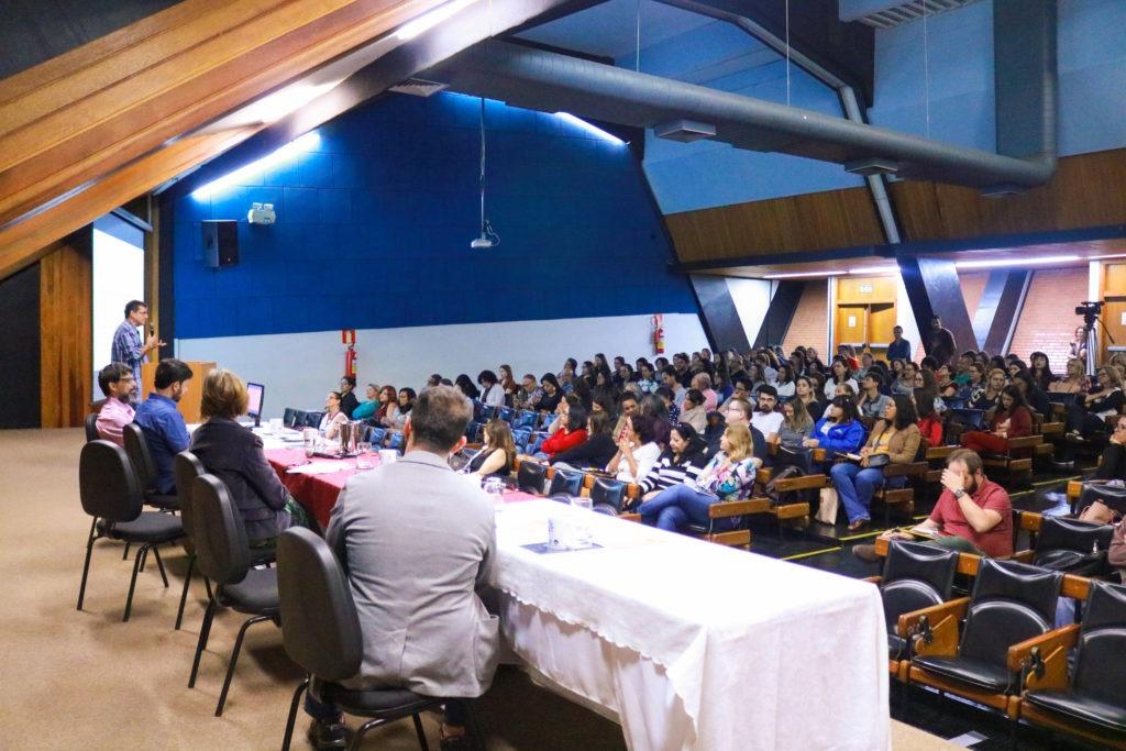 Palestra realizada durante o III Seminário de Educação Integral, na Unicamp. Foto: Divulgação/Unicamp.