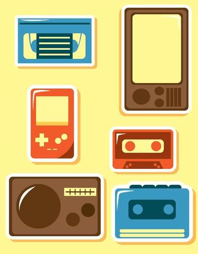 Ícones tecnológicos da década de 1980