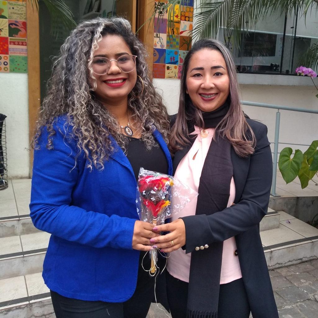 Sabrina Viana Bulcão e Elaine Martins, de Boa Vista do Ramos (AM)