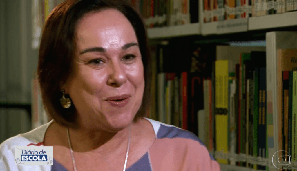 Anna Helena Altenfelder no SP1, da Rede Globo