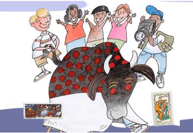 Artes do festejar e brincar, Coleção Amigos da Escola