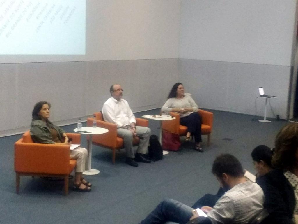 Zoara Failla, José Castilho e Renata Costa.