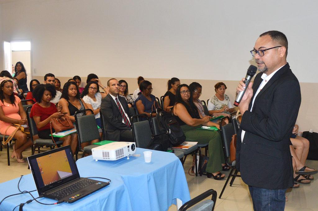 Formação sobre aprendizagem solidária em São Luís (MA). Foto: Reprodução.