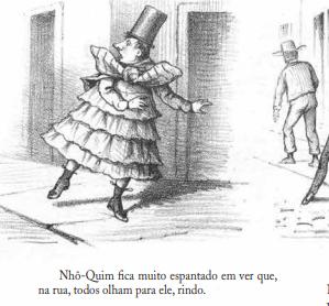 As aventuras de Nhô Quim, de Angelo Agostini. Imagem: reprodução