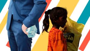 """Oxfam - relatório """"Tempo de cuidar"""""""