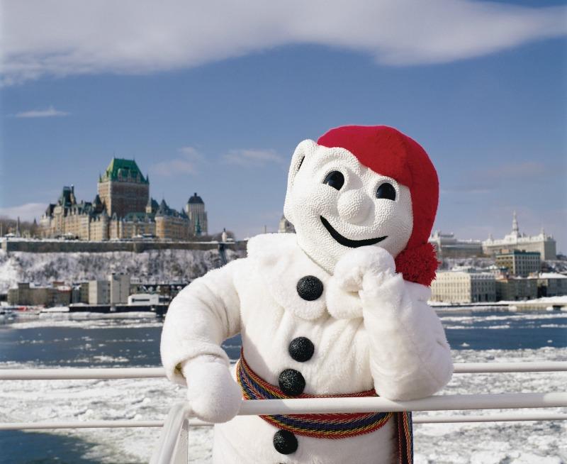 Bonhomme, mascote do Carnaval de Québec.