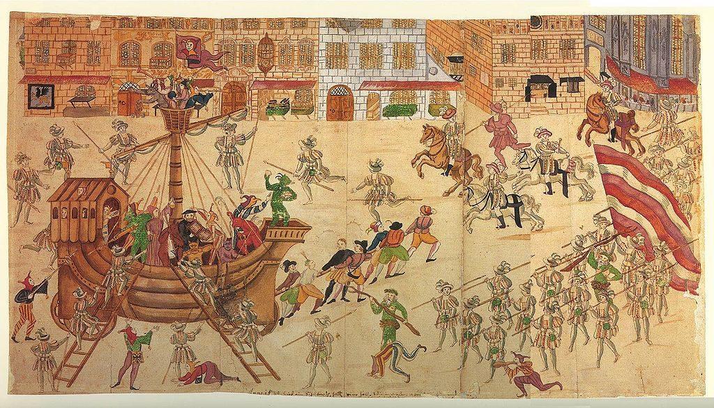Schembartlauf, tipo de Carnaval medieval em Nuremberg, Alemanha, no séc. XV.