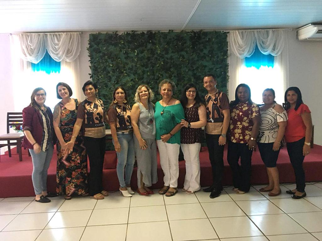 Membros da equipe do encontro na Paraíba.
