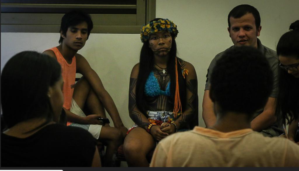Roda de conversa. Foto: Jovens Urbanos/CENPEC