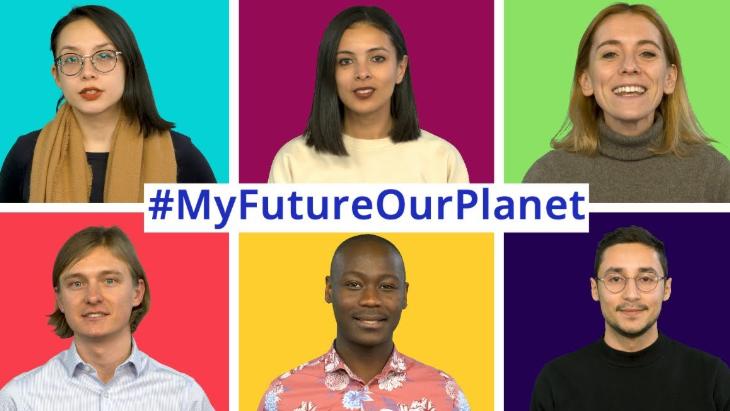 Campanha Meu futuro, nosso planeta. Nações Unidas Brasil.
