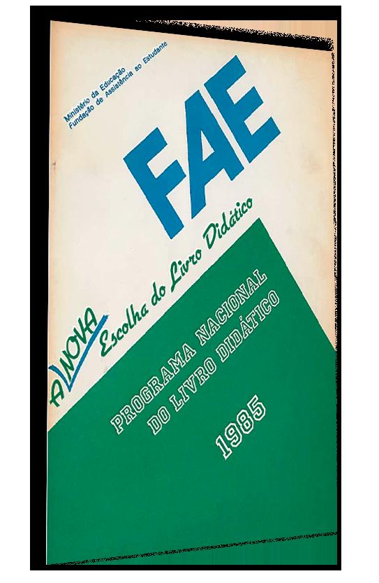 Primeiro Guia do PNLD, publicado em 1985.