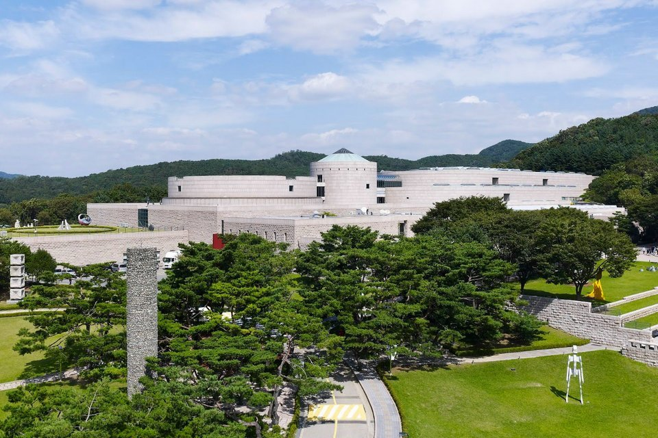 Museu Nacional de Arte Moderna e Contemporânea em Gwacheon, na Coreia do Sul.