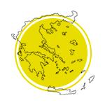 Mapa da Grécia.
