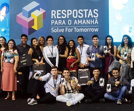 Equipes vencedoras nacionais de 2019. Foto: acervo CENPEC