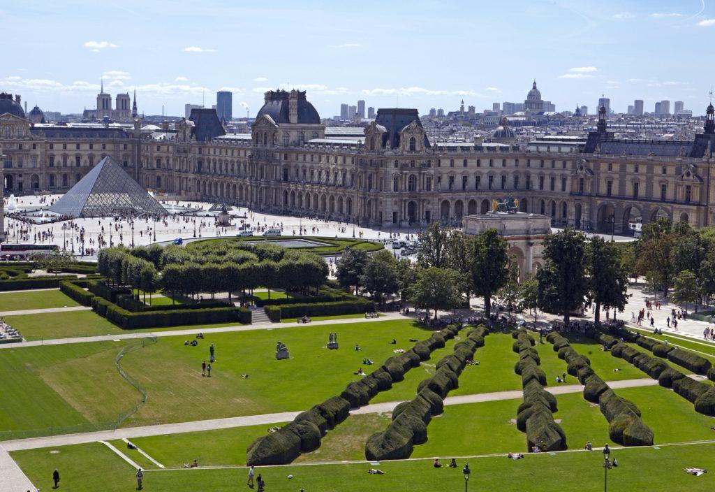 Museu do Louvre, na França.