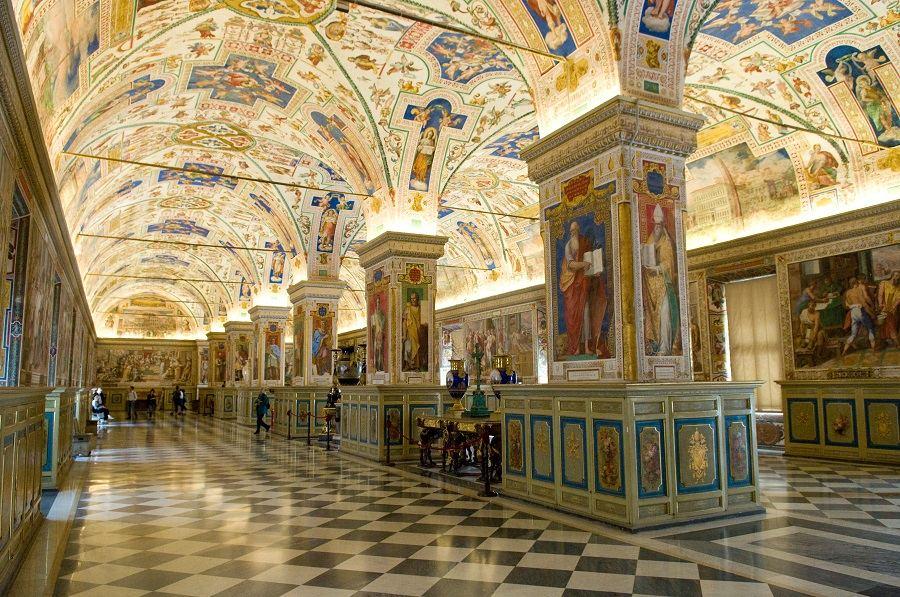 Museus do Vaticano e Capela Sistina. Foto: Michal Osmenda/Wikimedia Commons.