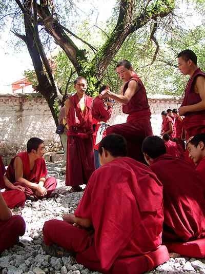 Monges budistas.