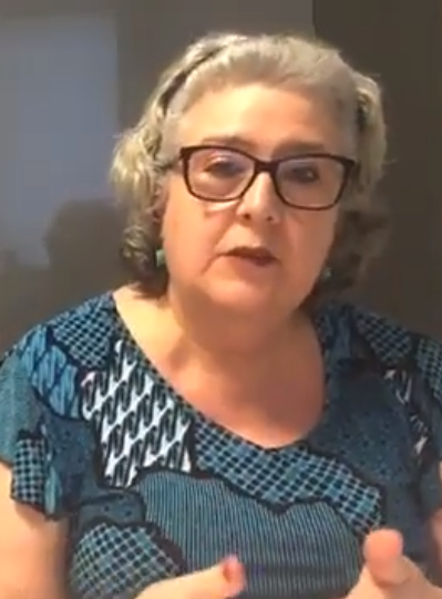 Cisele Ortiz, coordenadora adjunta do Instituto Avisa Lá.