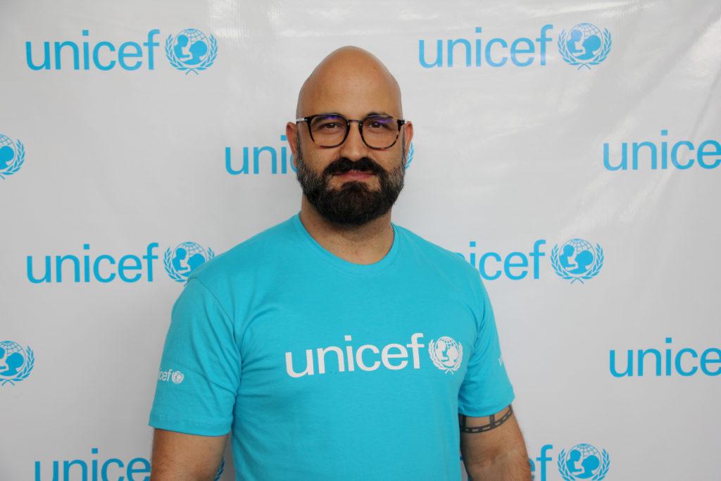 Fotografia de Ítalo Dutra, chefe de educação do Fundo das Nações Unidas para a Infância (UNICEF).