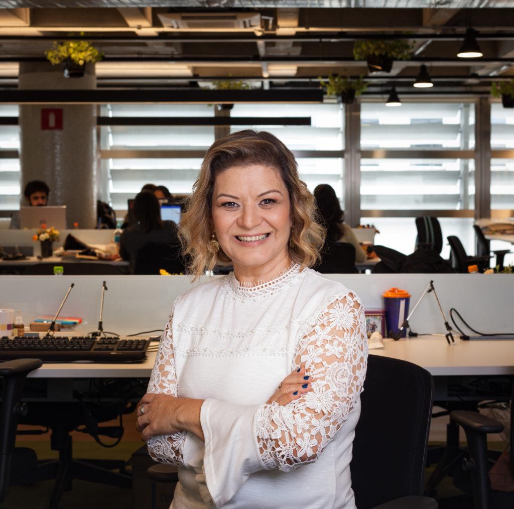 Fotografia de Claudia Petri, coordenadora de implementação regional do Itaú Social.