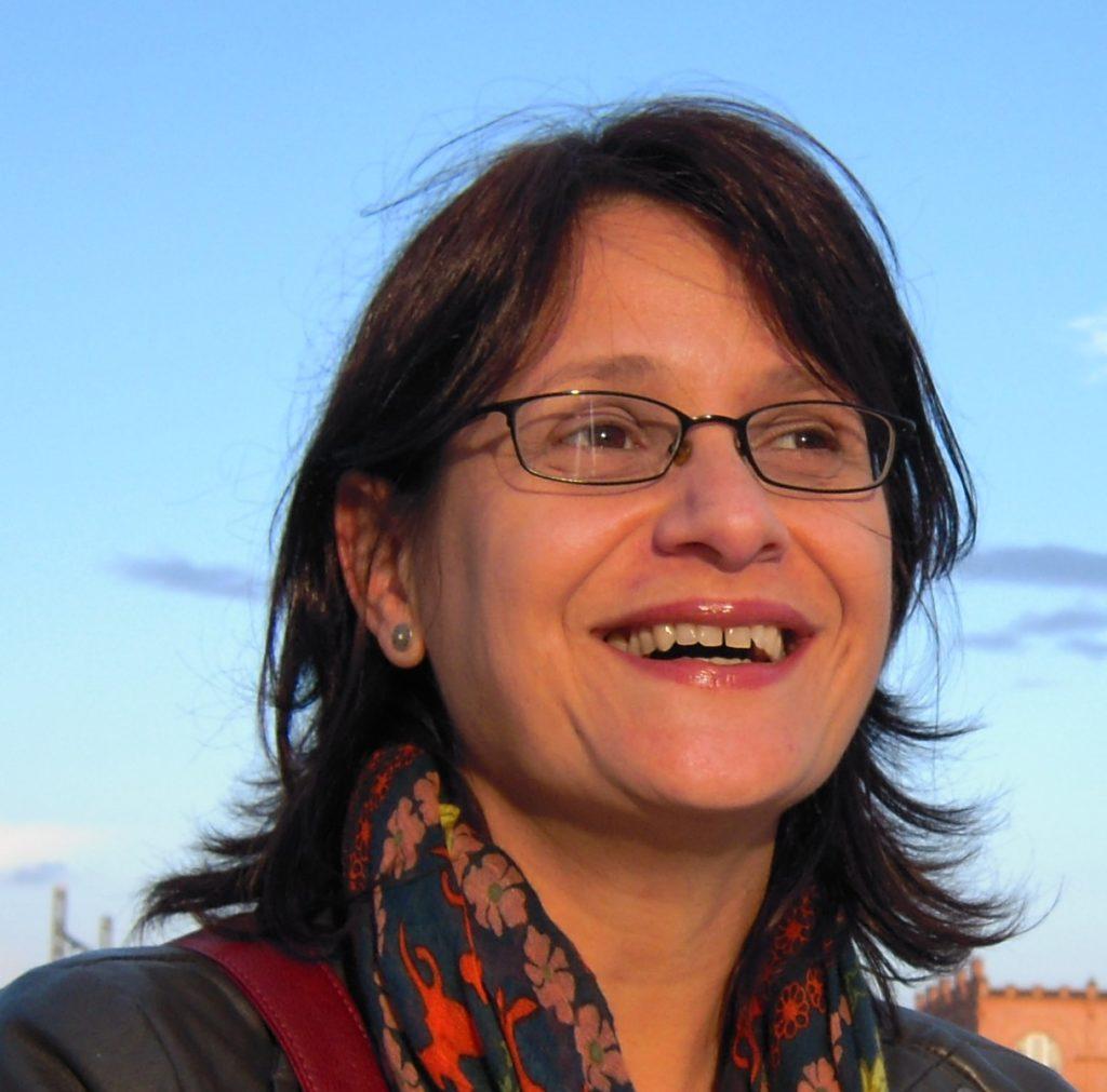 Fotografia de Neiara de Morais, do CEIPE-FGV e pesquisadora do OTec.