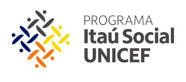 Logomarca do Programa Itaú Social UNICEF.