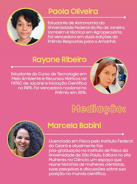 Participantes do terceiro webinar RPA, vencedoras do Prêmio Respostas para o Amanhã.