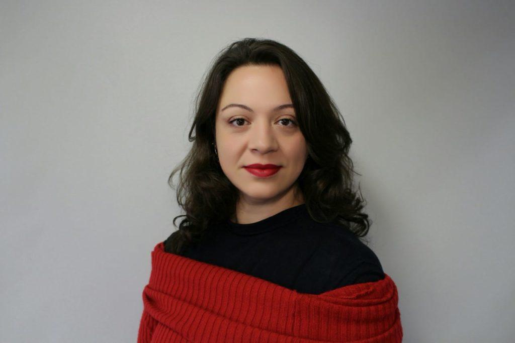Fotografia de Marta Volpi, assessora da Fundação Abrinq.