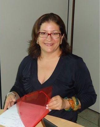 Fotografia de Rosilene Lagares, professora da Universidade Federal do Tocantins e membro do Fórum Estadual de Educação do Tocantins (FEE-TO).